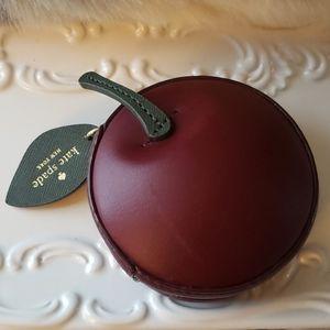 Ma Che`rie 3D cherry coin purse Kate Spade